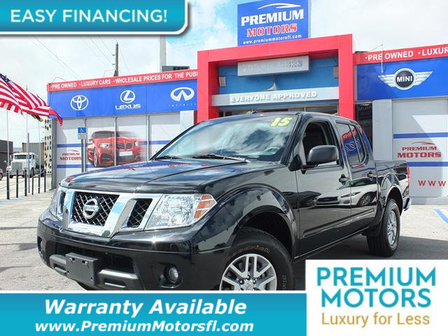 2015 NISSAN FRONTIER  LOADED CERTIFIED WARRANTY Dont Pay Retail Get low monthly payments on t