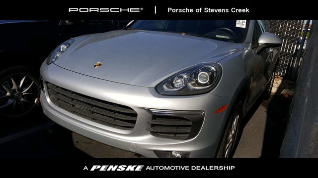 2016 PORSCHE CAYENNE AWD 4DR OPTIONS INCLUDEBASE Cayenne 5830000 1BK Air Suspension with Porsche