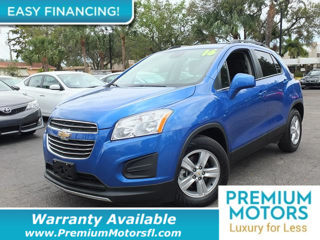 2016 CHEVROLET TRAX FWD 4DR LT LOADED CERTIFIED FACTORY WARRANTY Dont Pay