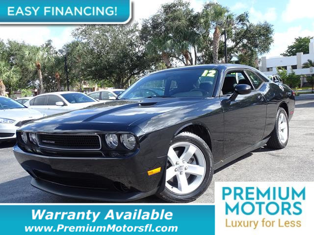 2012 DODGE CHALLENGER  LOADED CERTIFIED WE SAVE YOU THOUSANDS Dont Pay Retail Get low monthl