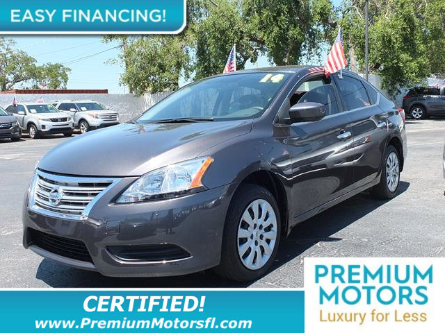 2014 NISSAN SENTRA  LOADED WITH VALUE This Nissan Sentra comes equipped with Clock Tachometer