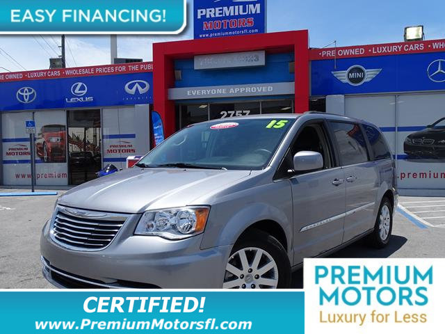2016 CHRYSLER TOWN  COUNTRY 4DR WAGON TOURING LOADED CERTIFIED WE SAVE YOU THOUSANDS Fully ser