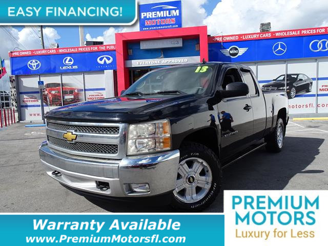 2013 CHEVROLET SILVERADO 1500 LT LOADED CERTIFIED WE SAVE YOU THOUSANDS Fully serviced ju