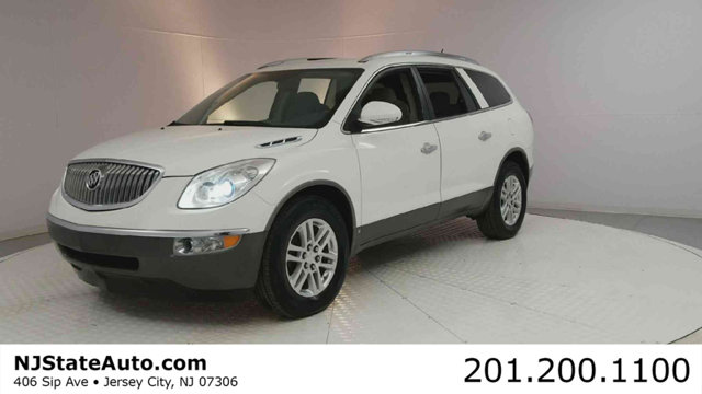 2008 BUICK ENCLAVE AWD 4DR CX CARFAX One-Owner Clean CARFAX White Opal 2008 Buick Enclave CX AWD