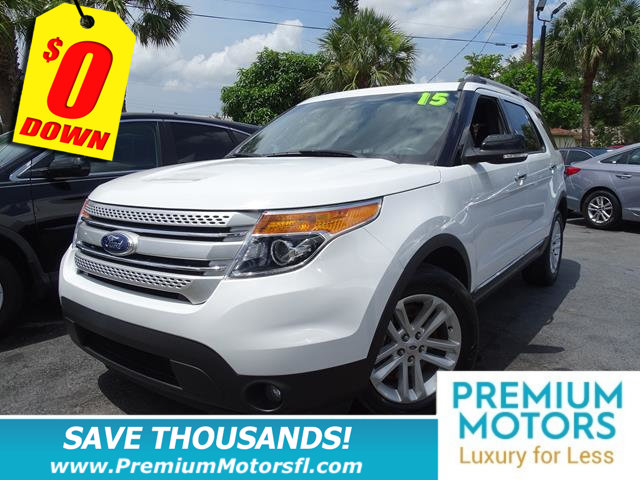 2015 FORD EXPLORER FWD 4DR XLT LOADED  FACTORY WARRANTY At Premium Motors we have relations