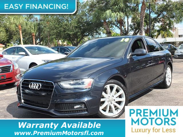 2014 AUDI A4 4DR SEDAN CVT FRONTTRAK 20T PRE LOADED CERTIFIED WARRANTY Dont Pay Retail Get l