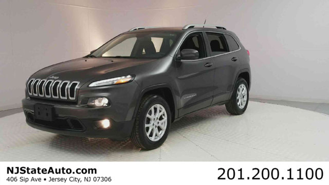 2014 JEEP CHEROKEE 4WD 4DR LATITUDE CARFAX One-Owner Anvil Clear Coat 2014 Jeep Cherokee Latitude