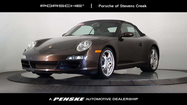 2008 PORSCHE 911 2DR CABRIOLET CARRERA S Aesthetically pleasing Actual miles This 2008 911 is fo