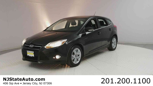 2012 FORD FOCUS 5DR HATCHBACK SEL Black 2012 Ford Focus SEL FWD 6-Speed Automatic with Select-Shif