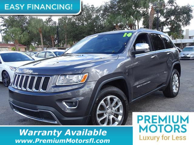 2014 JEEP GRAND CHEROKEE RWD 4DR LIMITED LOADED CERTIFIED WE SAVE YOU THOUSANDS Fully serviced