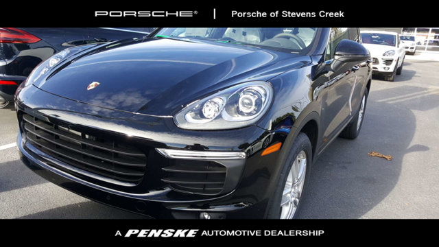 2018 PORSCHE CAYENNE AWD KEY FEATURES AND OPTIONS Comes equipped with Black Black Partial Leath