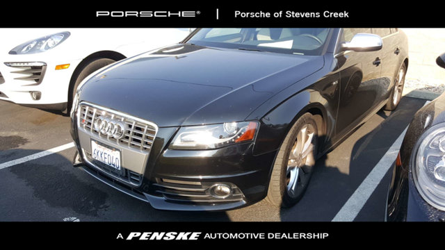 2010 AUDI S4 4DR SEDAN S TRONIC PREMIUM PLUS CARFAX One-Owner Clean CARFAX Black 2010 Audi S4 3