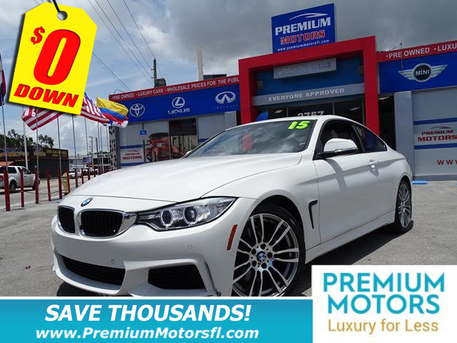 2015 BMW 4 SERIES 428I BMW FOR LESS SAVE THOUSANDS At Premium Motors we have relationships with
