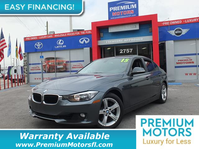 2015 BMW 3 SERIES 328I LOADED CERTIFIED WE SAVE YOU THOUSANDS Fully serviced just sign and dri