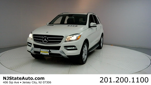 2013 MERCEDES M-CLASS 4MATIC 4DR ML 350 BLUETEC CARFAX CERTIFIED WITH SERVICE RECORDS ML350