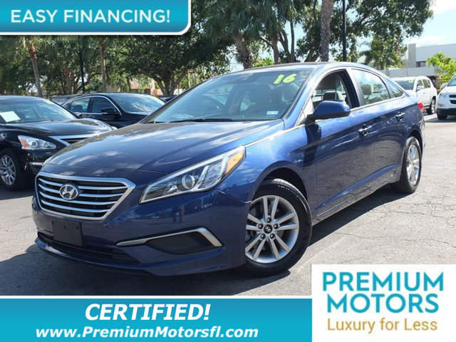 2016 HYUNDAI SONATA  LOADED CERTIFIEDFACTORY WARRANTY Fully serviced