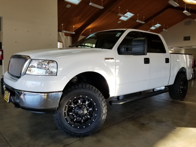 2006 FORD F-150 EXTRA CLEANCUSTOM WHEELS4X BUY AND DRIVE WORRY FREE Own this CARFAX Buyback