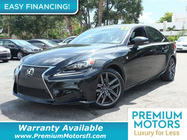 2015 LEXUS IS 250  LOADED CERTIFIED WE SAVE YOU THOUSANDS Fully serviced just sign and drive