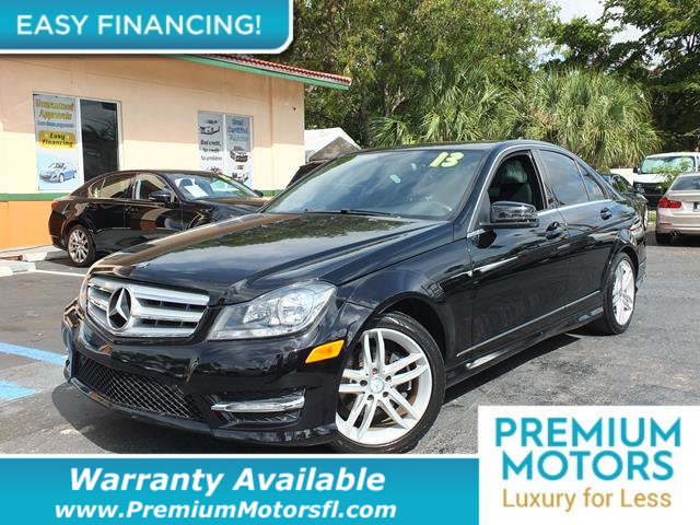 2013 MERCEDES C-CLASS  LOADED CERTIFIED WE SAVE YOU THOUSANDS Dont Pay Retail Get low monthly