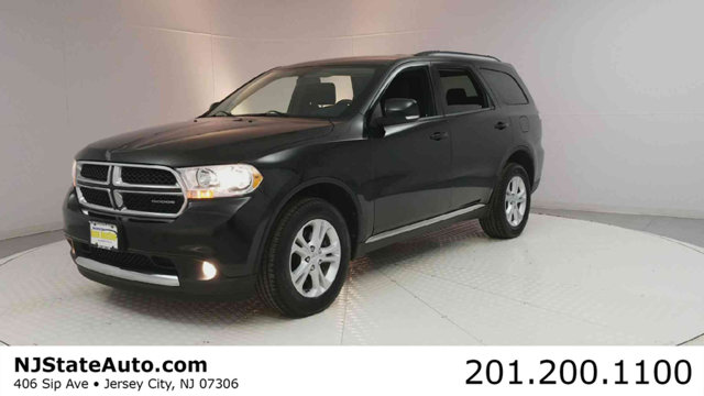 2012 DODGE DURANGO AWD 4DR CREW Black ClearCoat 2012 Dodge Durango Crew AWD 5-Speed Automatic 36L