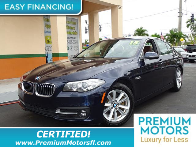 2015 BMW 5 SERIES 528I BMW FOR LESS SAVE THOUSANDS At Premium Motors we have relationships with