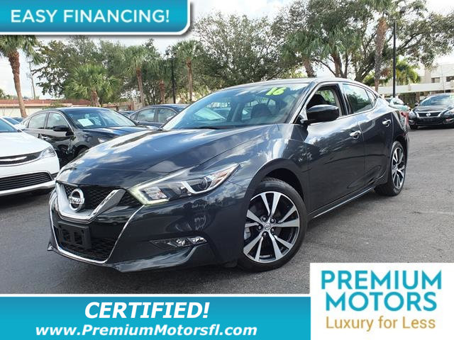 2016 NISSAN MAXIMA 4DR SEDAN 35 SL LOADED CERTIFIED WE SAVE YOU THOUSANDS Fully serviced