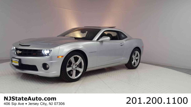 2012 CHEVROLET CAMARO 2DR COUPE 2SS Silver Ice Metallic 2012 Chevrolet Camaro SS 2SS RWD 6-Speed A