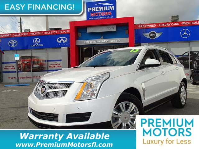 2012 CADILLAC SRX FWD 4DR LUXURY COLLECTION LOADED CERTIFIED WE SAVE YOU THOUSANDS Fully servic