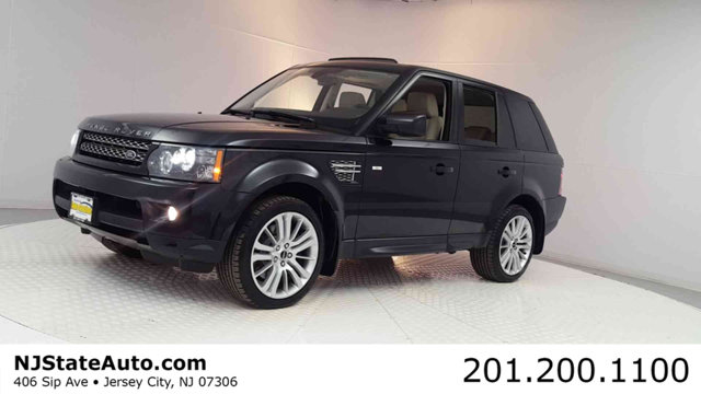 2012 LAND ROVER RANGE ROVER SPORT 4WD 4DR HSE LUX Clean CARFAX Santorini Black 2012 Land Rover Ra