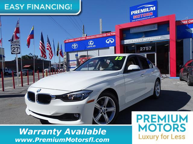2015 BMW 3 SERIES 320I LOADED CERTIFIED WE SAVE YOU THOUSANDS Fully serviced just sign and dri