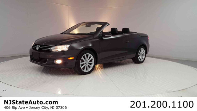 2013 VOLKSWAGEN EOS 2DR CONVERTIBLE KOMFORT SULEV CARFAX One-Owner Clean CARFAX Brown Metallic 2