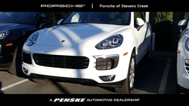 2017 PORSCHE CAYENNE S HYBRI S HYBRID LOADED WITH VALUE Comes equipped with Air Conditioning Su