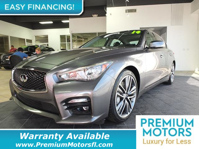 2014 INFINITI Q50 4DR SEDAN RWD LOADED CERTIFIED WE SAVE YOU THOUSANDS Dont Pay Retail Get lo