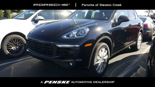 2018 PORSCHE CAYENNE S AWD LOADED WITH VALUE Comes equipped with 14-Way Power Seats Black Blac