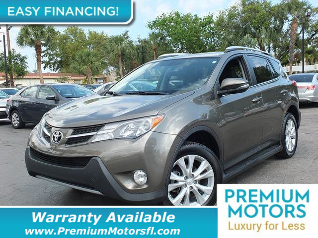 2014 TOYOTA RAV4 FWD 4DR LIMITED LOADED CERTIFIED WE SAVE YOU THOUSANDS Fully serviced just si