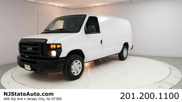 2012 FORD ECONOLINE CARGO VAN E-150 COMMERCIAL CARFAX One-Owner Oxford White 2012 Ford E-150 Comm