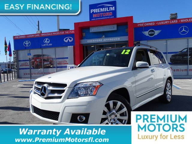 2012 MERCEDES GLK  LOADED CERTIFIED WARRANTY Dont Pay Retail Get low monthly payments on this