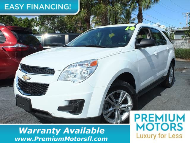 2014 CHEVROLET EQUINOX FWD 4DR LS LOADED CERTIFIED WARRANTY Dont Pay Retail Get low monthly p