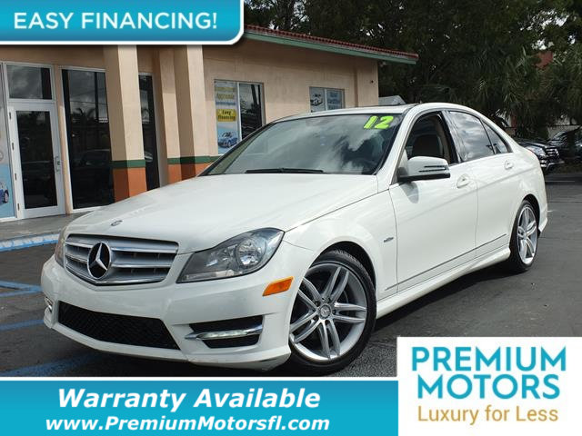 2012 MERCEDES C-CLASS  LOADED CERTIFIED WE SAVE YOU THOUSANDS  Dont Pay Retail Get low month