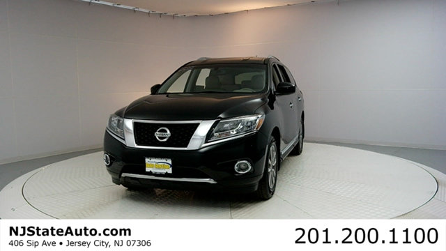 2014 NISSAN PATHFINDER 4WD 4DR SL CARFAX CERTIFIED 1-OWNER WITH SERVICE RECORDS Pathfinder SL