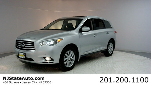 2013 INFINITI JX35 AWD 4DR CARFAX CERTIFIED 1-OWNER WITH SERVICE RECORDS AWD and Navigation Sy