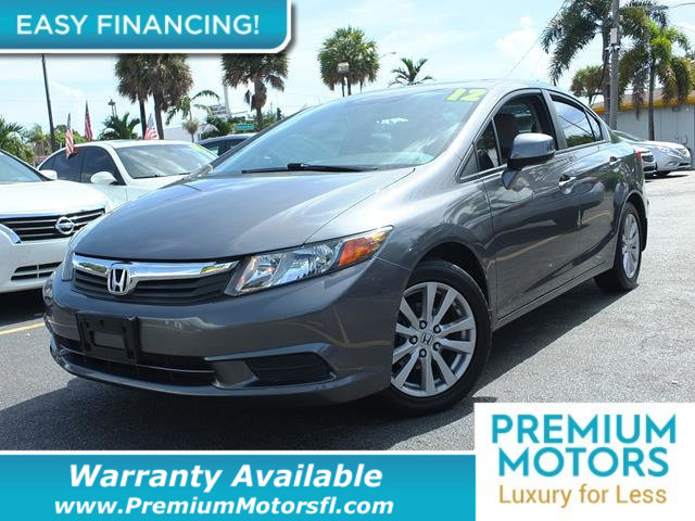 2012 HONDA CIVIC SEDAN  LOADED CERTIFIED WARRANTY Dont Pay Retail Get low monthly payments on