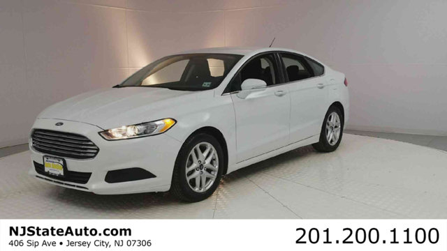 2015 FORD FUSION 4DR SEDAN SE FWD Oxford White 2015 Ford Fusion SE FWD 6-Speed Automatic 25L iVCT