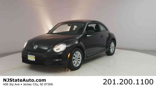 2016 VOLKSWAGEN BEETLE COUPE 2DR AUTOMATIC 18T CLASSIC CARFAX One-Owner Clean CARFAX Black Uni