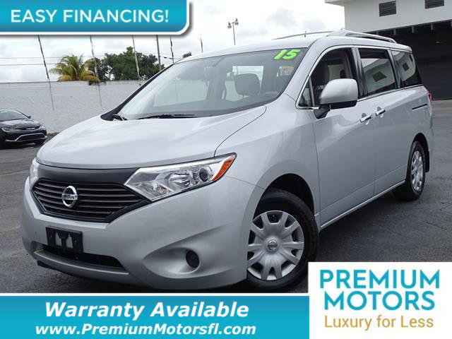 2015 NISSAN QUEST  LOADED CERTIFIED WE SAVE YOU THOUSANDS Dont Pay Retail Get low monthly pay