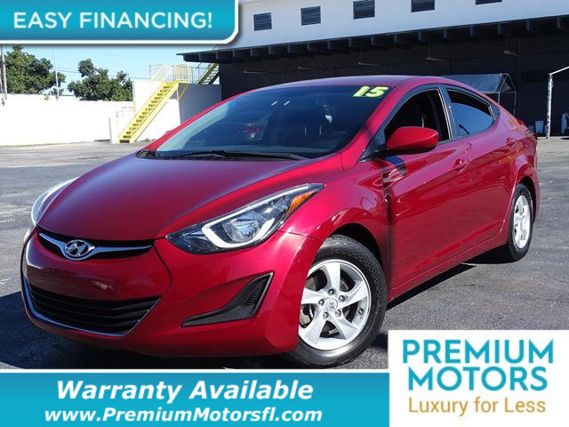 2015 HYUNDAI ELANTRA  LOADED CERTIFIED WE SAVE YOU THOUSANDS Fully serviced just sign and driv