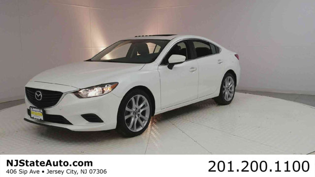 2016 MAZDA MAZDA6 4DR SEDAN AUTOMATIC I TOURING CARFAX One-Owner Clean CARFAX Snowflake White Pe