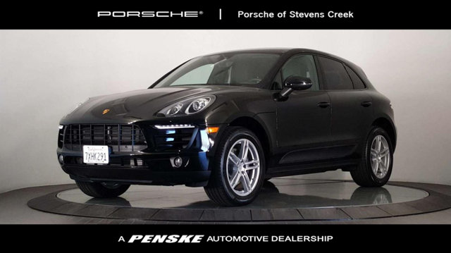 2017 PORSCHE MACAN AWD New Price CARFAX One-Owner Clean CARFAX Certified Black 2017 Porsche Ma