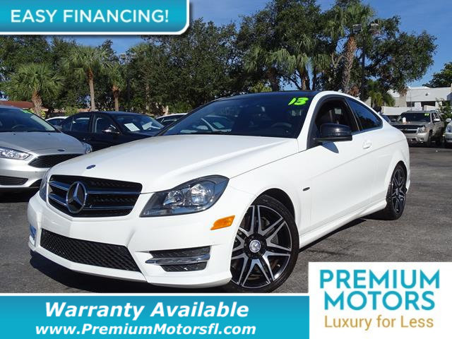 2013 MERCEDES C-CLASS  REST EASY With its 1-Owner  Buyback Qualified CARFAX report you can rest