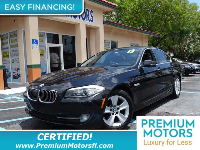 2013 BMW 5 SERIES 528I LOADED CERTIFIED WE SAVE YOU THOUSANDS Fully service